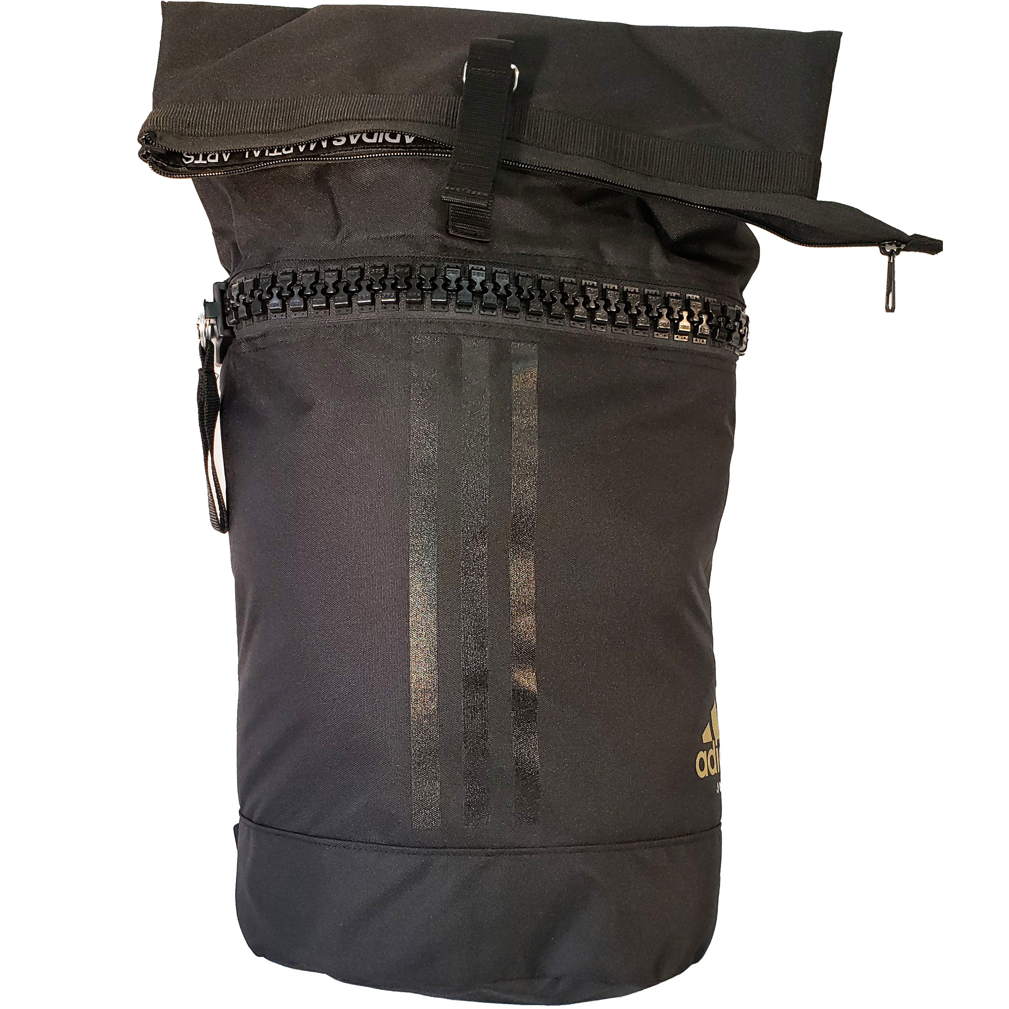 Military Backpack - BLACK-GOLD