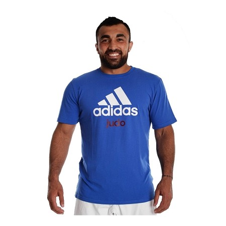 Adidas Judo Tee Blue YOUTH
