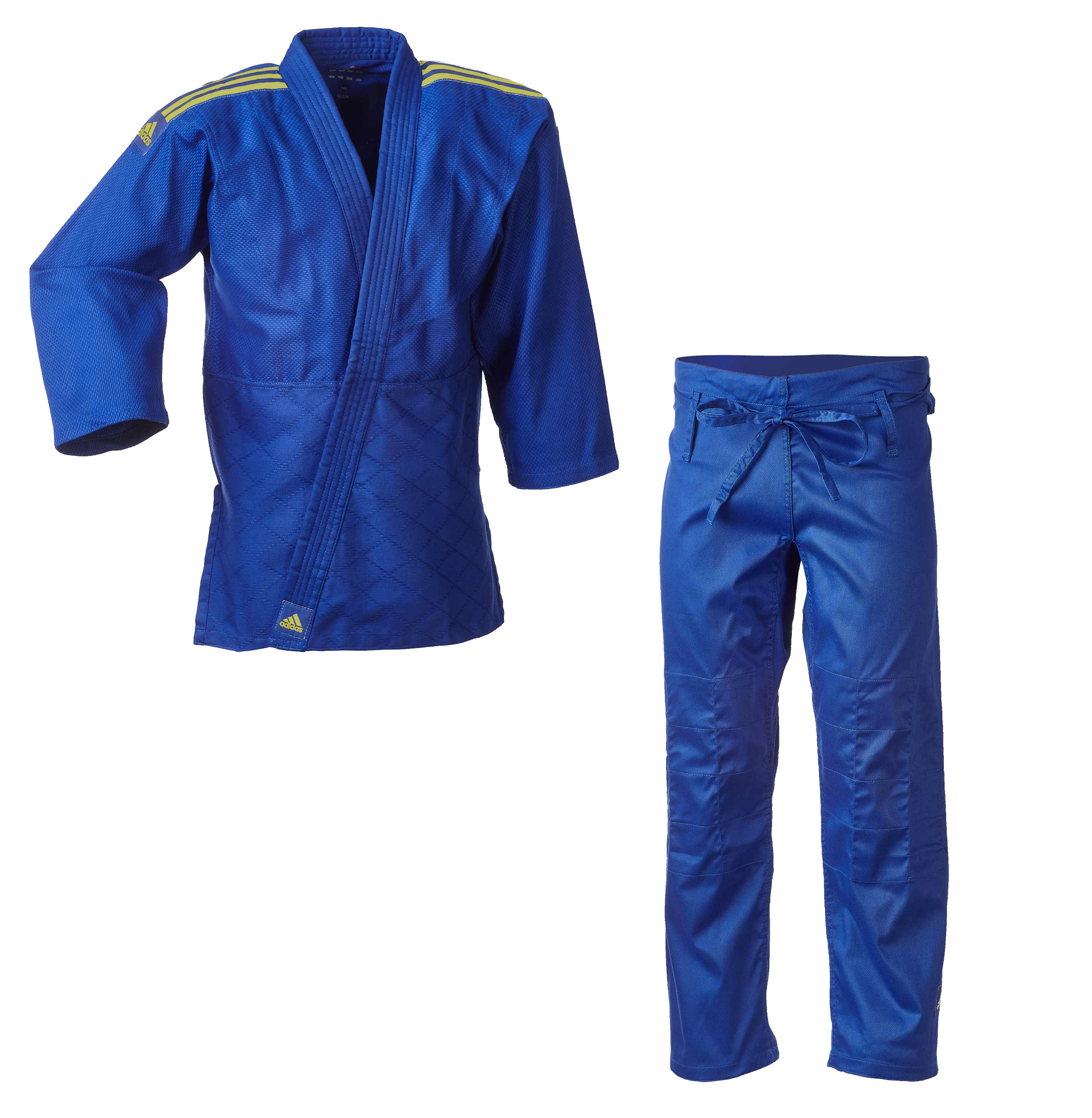 J350 Club Gi BLUE & Gold Stripes